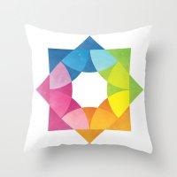 Blending Logo Throw Pillow