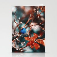 Blueberry Fall Stationery Cards