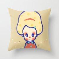 melody Throw Pillow