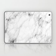 White Marble Laptop & iPad Skin