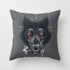 Hungry like the Wolf! Throw Pillow