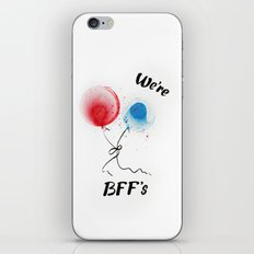 We are BFF's iPhone & iPod Skin