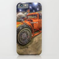 iPhone & iPod Case featuring Orange Monster by Christine Workman