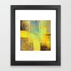 rising concern 2c Framed Art Print