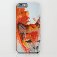 iPhone & iPod Case featuring Fox by Dillon Brannick