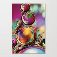 Explosion of Colour Canvas Print