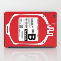 My Blood Type Is B, For … iPad Case
