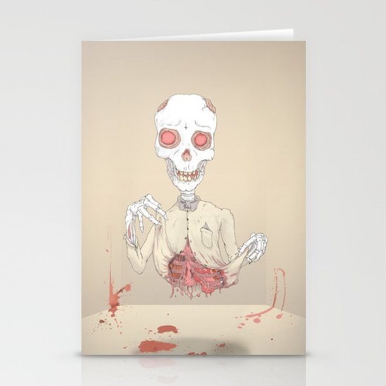 zombie Stationery Card