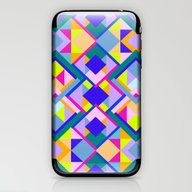 Colourful Geometric Patt… iPhone & iPod Skin