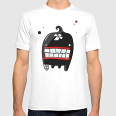 MONSTER 2 Mens Fitted Tee SMALL White