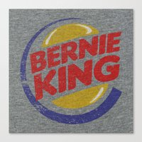 Bernie King Canvas Print
