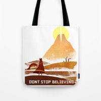 Journey On and On Tote Bag