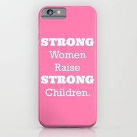 Strong Women - Pink.  iPhone 6 Slim Case