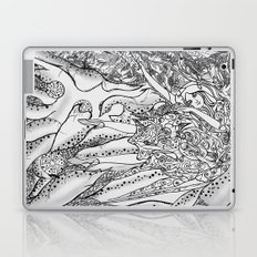 Secret Garden / Original A4 Illustration / Pen & Ink Laptop & iPad Skin