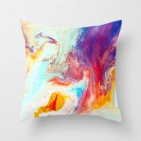 Disperse Throw Pillow