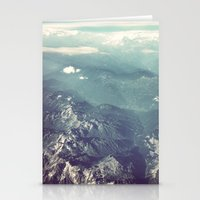 Aerial View Of The Frenc… Stationery Cards