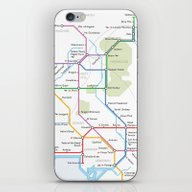 Middle Earth Transit Map iPhone & iPod Skin