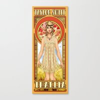The Muse of Comedy Canvas Print