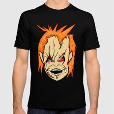 Chucky Mens Fitted Tee Black SMALL