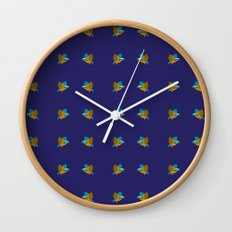 bird pattern Wall Clock