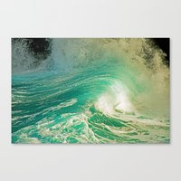 WAVE JOY Canvas Print