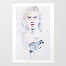 pale color Art Print