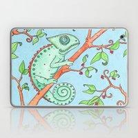 Cute Chameleon Laptop & iPad Skin