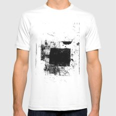 misprint 83 White Mens Fitted Tee SMALL