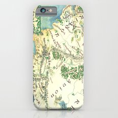 Middle Earth map iPhone 6 Slim Case