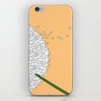 Flying ants iPhone & iPod Skin
