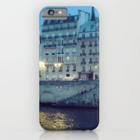 Paris By Night: Ile De L… iPhone 6 Slim Case
