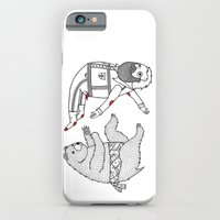 On the bear's uncontrollable urge to toss his master in the air iPhone 6 Slim Case