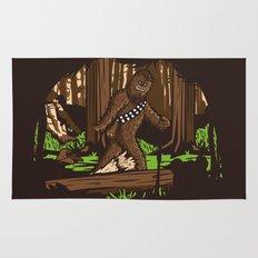 The Bigfoot of Endor Rug
