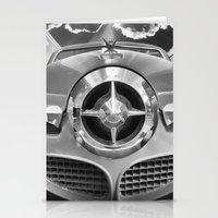 Studebaker and Trains Stationery Cards