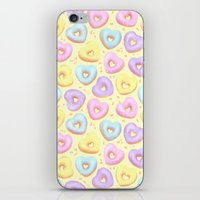 I Heart Donuts iPhone & iPod Skin