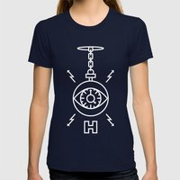 Hypnotize Womens Fitted Tee Navy SMALL