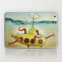 Yellow Submarine In An O… Laptop & iPad Skin