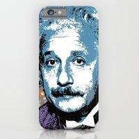 Blue Einstein iPhone 6 Slim Case