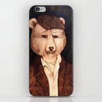 Mr. B The Bear iPhone & iPod Skin