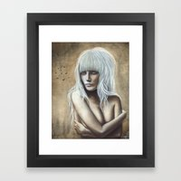 Amber Framed Art Print