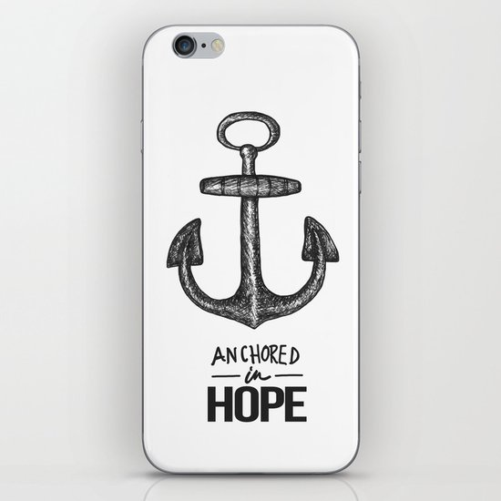 Anchored iPhone & iPod Skin