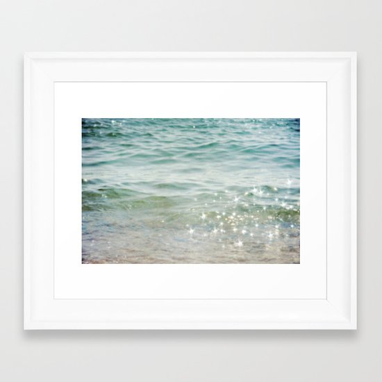 Falling Into A Beautiful Illusion Framed Art Print