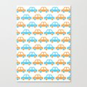 The Essential Patterns of Childhood - Car Canvas Print
