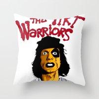 Furies Throw Pillow