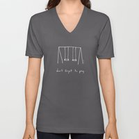 Don't Forget To Play - R… Unisex V-Neck