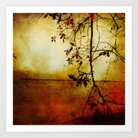 Red Dawn Art Print