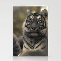 Golden Tiger 2 Stationery Cards