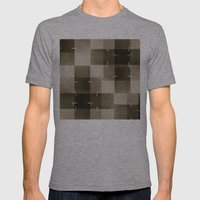 Random Pattern Mens Fitted Tee Athletic Grey SMALL
