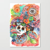 Social Pace Canvas Print