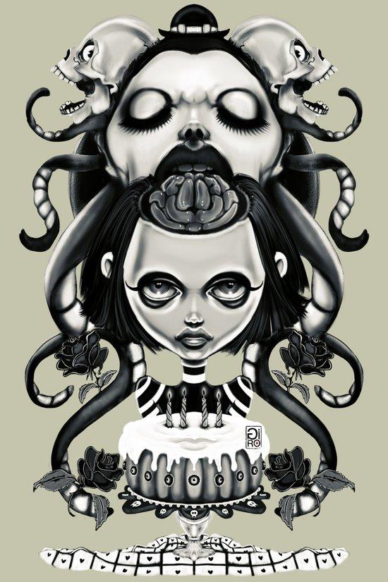 """""""Tattoeums VI"""" Art Print"""